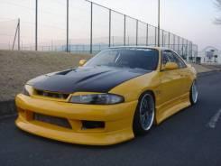 Бампер. Nissan Skyline