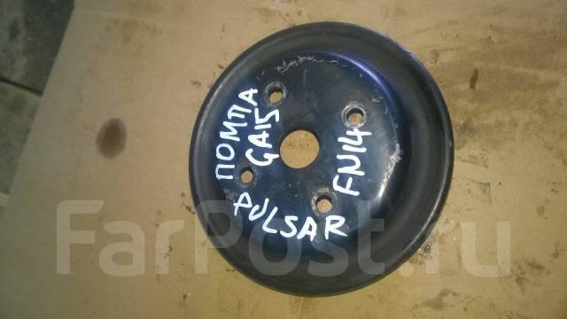 Шкив помпы. Nissan Pulsar, FN14 Двигатель GA15DS