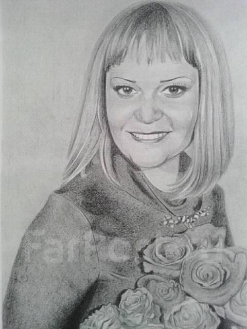 Портреты карандашом по фото
