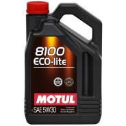 Motul 8100 Eco-Lite. Вязкость 5w30, синтетическое