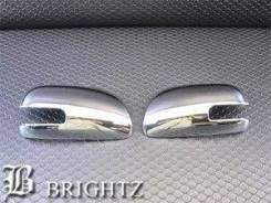 Накладка на зеркало. Toyota Vitz, KSP90, NCP91, NCP95, SCP90. Под заказ