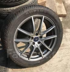 Продам шикарный комплект колёс Weds Leonis Japan на лете 215/50/17. 7.0x17 5x100.00 ET47