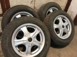 Продам колёса на литых дисках R14 185/65. 6.0x14 4x100.00, 4x114.30 ET38 ЦО 67,0мм.