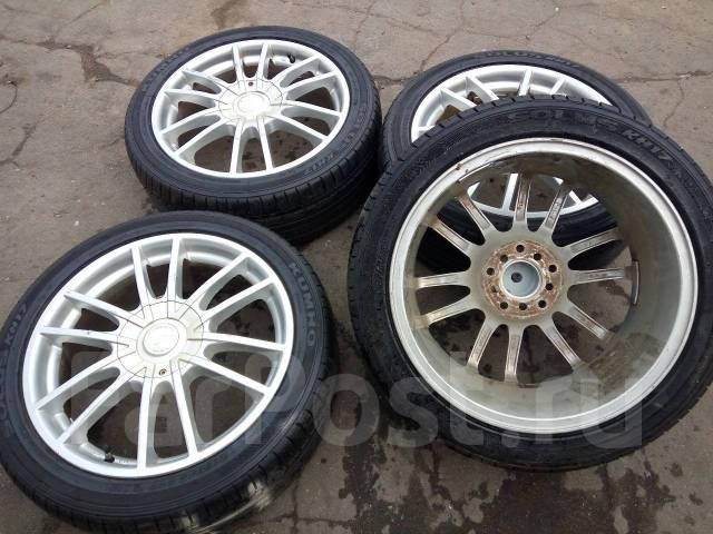 Комплект колес La Strada R17 215/45 Kumho Solus. 7.0x17 5x100.00, 5x114.30 ET38