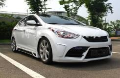 Обвес кузова аэродинамический. Hyundai Avante, MD Hyundai Elantra, MD. Под заказ