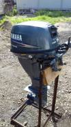 Yamaha. 15,00л.с., 4х тактный, бензин, нога S (381 мм)