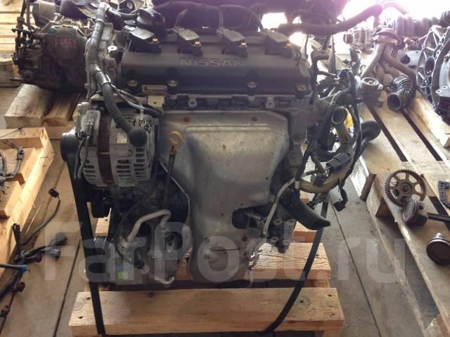 Двигатель в сборе. Nissan Teana, TNJ31 Nissan Presage, PNU31, PU31, TNU31, TU31 Nissan Altima Двигатели: QR25DE, QR25DENEO, QR25