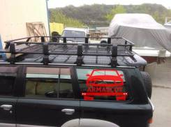 Багажник на крышу. УАЗ Пикап Mitsubishi Pajero Mitsubishi L400 Mitsubishi Delica, P03W, PE8W, PA4W, P05W, PD8W, PC4W, P24W, PD4W, PC5W, PA5W, P04W, P3...
