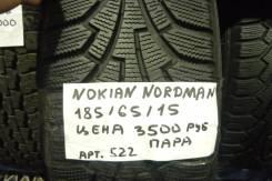 Nokian Nordman RS. Всесезонные, износ: 5%, 2 шт