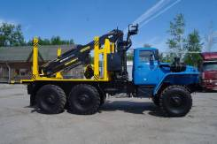 Урал 4320. сортиментовоз с гидроманипулятором, 11 148 куб. см., 10 000 кг.