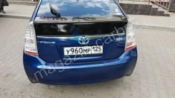 Накладка багажника. Toyota Prius, ZVW30, ZVW30L