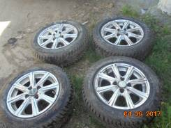 Комплект зимних колес yokohama. 5.5x14 4x100.00 ET45