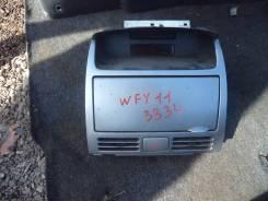Кнопка включения аварийной сигнализации. Nissan AD, WPY11, WFY11, WHY11, WHNY11, WRY11 Nissan Wingroad, WPY11, WHY11, WRY11, WHNY11, WFY11 Двигатели...