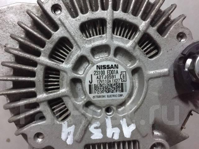 Генератор. Nissan: Bluebird Sylphy, Cube, AD, Tiida, Tiida Latio Двигатели: HR15DE, HR16DE