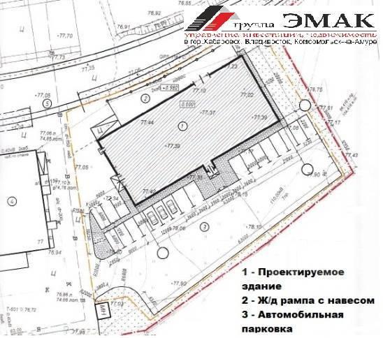 Складское помещение 917 кв. м. с ж/д рампой. Суворова 77. 917 кв.м., улица Суворова 77, р-н Индустриальный
