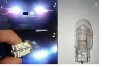 Лампы Светодиодные dSign T20 18 smd одноконтактная Яркий белый свет. Subaru Honda
