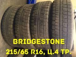Bridgestone Blizzak Revo GZ. Зимние, без шипов, 2011 год, износ: 80%, 4 шт