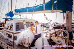 Аренда парусной яхты VIP класса для свадебных прогулок и фотосессий