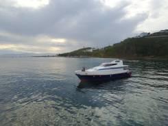 Аренда катера, морские прогулки рыбалка отдых на островах Владивосток. 25 человек, 30км/ч
