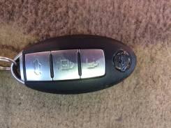Ключ зажигания. Smart Nissan