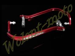 Защитные дуги (22мм) Красный ZETA ZE72-0004