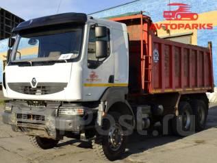 Renault Kerax. Самосвал 6х4 16 кубов 2011 года 380dxi, 10 800 куб. см., 20 400 кг.