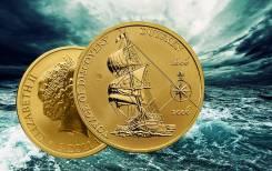 Австралия 5 долларов 2006 Voyage of Discovery Duyfken. Корабль