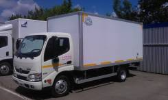 Hino 300. Продаётся Фургон изотермический на шасси hino 300 XZU650L, 4 009 куб. см., 1 500 кг.