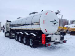 Foxtank. ППЦ молоковоз, масловоз для перевозки пищевых пр. 31м3 4оси FoxTank, 31,00куб. м.