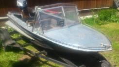 Моторные лодки. Год: 1973 год, длина 3,53м., двигатель подвесной, бензин