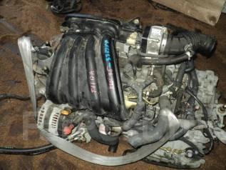 Двигатель в сборе. Nissan: Tiida Latio, Cube Cubic, Wingroad, Cube, Note, Bluebird Sylphy, Tiida, AD, March Двигатель HR15DE