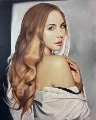 Детальный портрет маслом на холсте (на заказ)