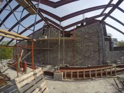 Строительство зданий и сооружений из блоков (газоблок, пенблок и т. д. )