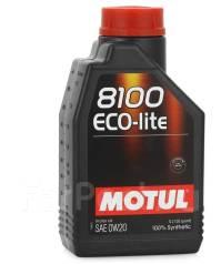 Motul 8100 Eco-Lite. Вязкость 0W-20, синтетическое