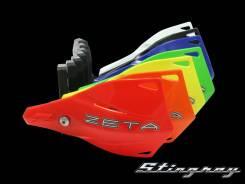 Защита рук (пластик) с крепежом ZETA Stingray MX красный ZE74-2105