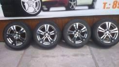 Комплект литых колес BEO летней резиной 21555R-16. 6.5x16 5x100.00 ET46 ЦО 63,0мм.