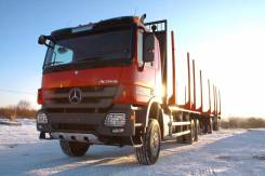 Mercedes-Benz Actros. Сортиментовоз Mercedes Benz Actros 3346A, 12 000 куб. см., 25 000 кг.