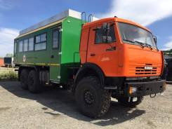 Камаз 43118 Сайгак. Вахтовый автобус на шасси КамАЗ 43118, 10 850 куб. см., 24 места. Под заказ