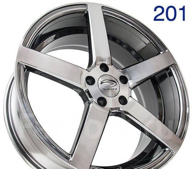 Sakura Wheels. 8.5x19, 5x114.30, ET32, ЦО 73,1мм.