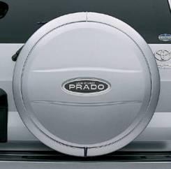 Колпак запасного колеса. Toyota Land Cruiser Prado, TRJ125, RZJ120, LJ125, KDJ125, GRJ120, TRJ120W, KZJ120, KDJ121, RZJ125, VZJ120, RZJ120W, KDJ120W...