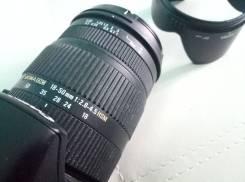 Sigma DC 18-50 mm f/2.8-4.5 OS HSM Canon. Для Canon, диаметр фильтра 67 мм
