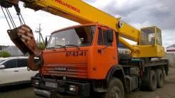 Ивановец. Автокран 25 тонн, 11 000куб. см., 25 000кг., 21,00м.