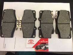 Колодка тормозная. Toyota: Hilux Surf, 4Runner, T100, Hilux, Land Cruiser, Land Cruiser Prado, Tacoma Двигатели: 5VZFE, 3RZFE, 1KZTE, 1KDFTV, 3VZE, 22...