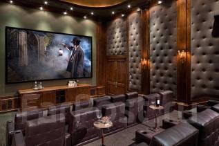 Домашние кинотеатры, кабинеты, библиотеки. Тип объекта домашний кинотеатр библиотеки кабинеты, срок выполнения 3 месяца
