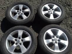 Продам комплект оригинальных колёс от Toyota Camry ACV30. 6.5x16 5x114.30 ET50 ЦО 60,0мм.