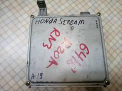 Блок управления двс. Honda Stream, LA-RN3, RN3 Двигатель K20A