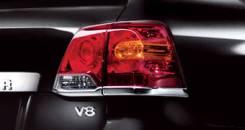 Накладка на стоп-сигнал. Toyota Land Cruiser, UZJ200W, GRJ200, URJ200, URJ202, UZJ200, VDJ200, URJ202W Двигатели: 1VDFTV, 1URFE, 3URFE, 1GRFE, 2UZFE....