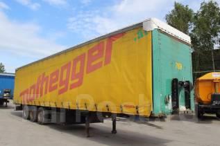 Krone SD. Штора 2006 год на коробах, 34 000 кг.