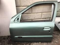 Дверь передняя левая Renault Symbol/ Clio 1998-2008