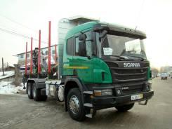 Scania. Продам Лесовоз P440 CB6x4EHZ с гидроманипулятором 2017, 9 000 куб. см. Под заказ
